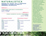 CORSO DI INGEGNERIA NATURALISTICA